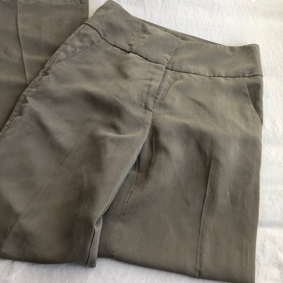 ANTHROPOLOGIE Green Trousers